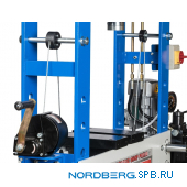 Пресс электрогидравлический, усилие 75 тонн Nordberg N3675Е