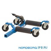 Домкрат подкатной для перемещения автомобиля, 560 кг Nordberg N3S1