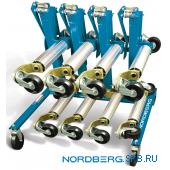 Стойка для хранения 4-х домкратов тележек Nordberg N3ST
