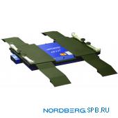 Подъемник ножничный пневматический, для шиномонтажа Nordberg N630-2.5T