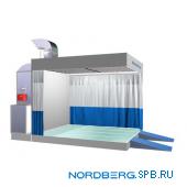 Пост подготовки к окраске с подогревом Nordberg NB300C