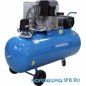 Компрессор поршневой с ременным приводом Nordberg NC200/650