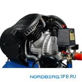 Компрессор поршневой с ременным приводом Nordberg ECO NCE50/410V