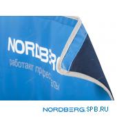 Накидка на крыло с магнитом, подкладкой и логотипом Nordberg NN1