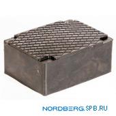 Накладка резиновая для ножничных подъемников Nordberg 1024