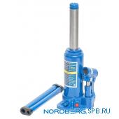 Домкрат бутылочный 3 тонны Nordberg N3103