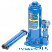 Домкрат бутылочный 5 тонн Nordberg N3105