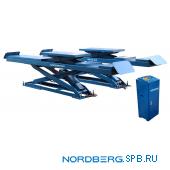Подъемник ножничный (без аварийного опускания), г/п 3,5 тонны Nordberg N635-4,0