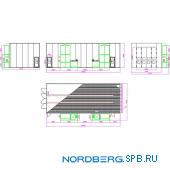 Окрасочно сушильная камера Nordberg