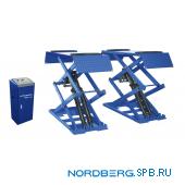 Подъемник ножничный низкопрофильный, г/п 3 тонны Nordberg N631L-3