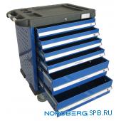 Тележка инструментальная 6 полок Nordberg T6N