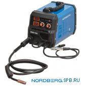 Аппарат сварочный инверторный MIG+MMA, 220V Nordberg WMI180