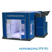 Окрасочно-сушильная камера, Масштаб: 1:14 Nordberg