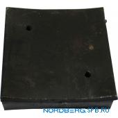Накладка на лапу для Nordberg 4120A-4T