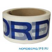 Скотч с логотипом Nordberg
