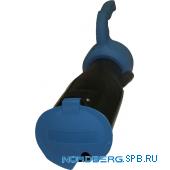 Насадка газоприемная резиновая овальная с ручкой на шланг D=75мм Nordberg AN075DH