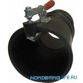 Насадка газоприемная резиновая круглая с зажимом на шланг D=150мм Nordberg AN150RC
