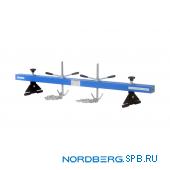 Универсальная опора для вывешивания двигателя и КПП на крыльях Nordberg N3005