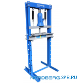 Пресс, домкрат, усилие 12 тонн Nordberg N3612JL
