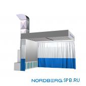 Пост подготовки к окраске Nordberg NB100B