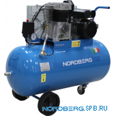 Компрессор поршневой с ременным приводом Nordberg NC100/360