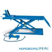 Подъемник для квадроциклов с пневмоприводом и управлением ногой, г/п 680 кг Nordberg N4M4