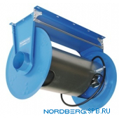 Катушка для сбора выхлопных газов под шланг D=75 мм, длина 7,5 м Nordberg H6075125