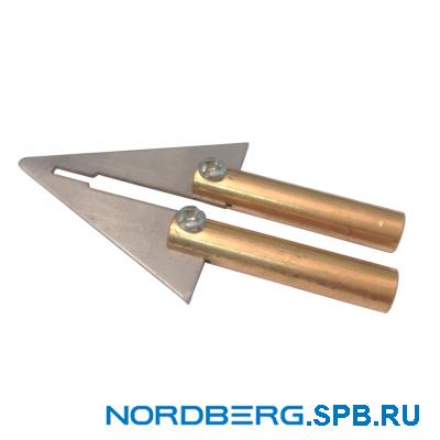 Жало треугольное для Nordberg WP3