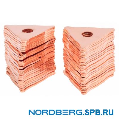 Звезда омедненная для сварки (25 шт.) Nordberg
